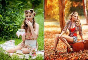 Красивые иллюстрации пин ап: воплощение женской красоты и очарования